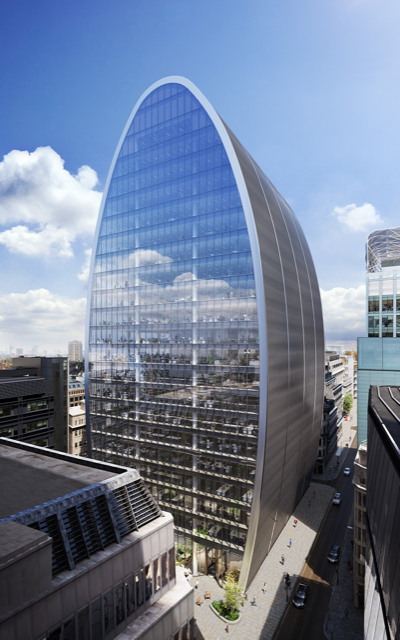 70 St Mary Axe exterior CGI by River Film