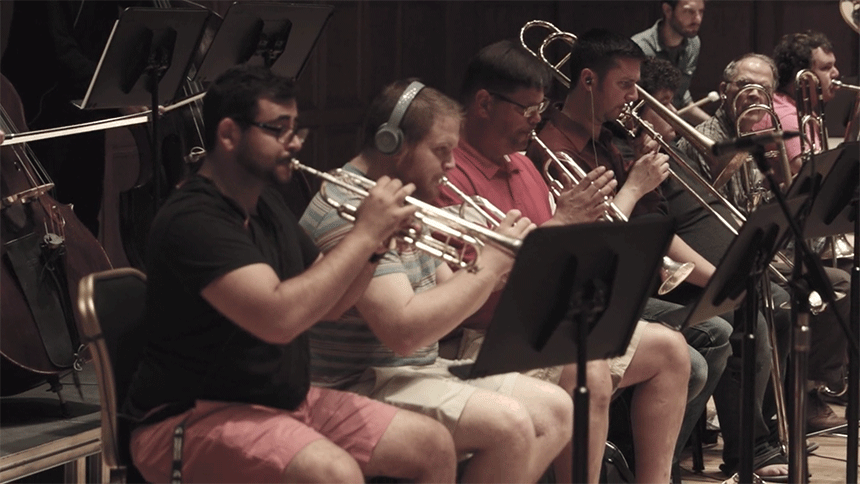 Bureaucratic Waltz by Youngstown Scoring Stage Brass Section