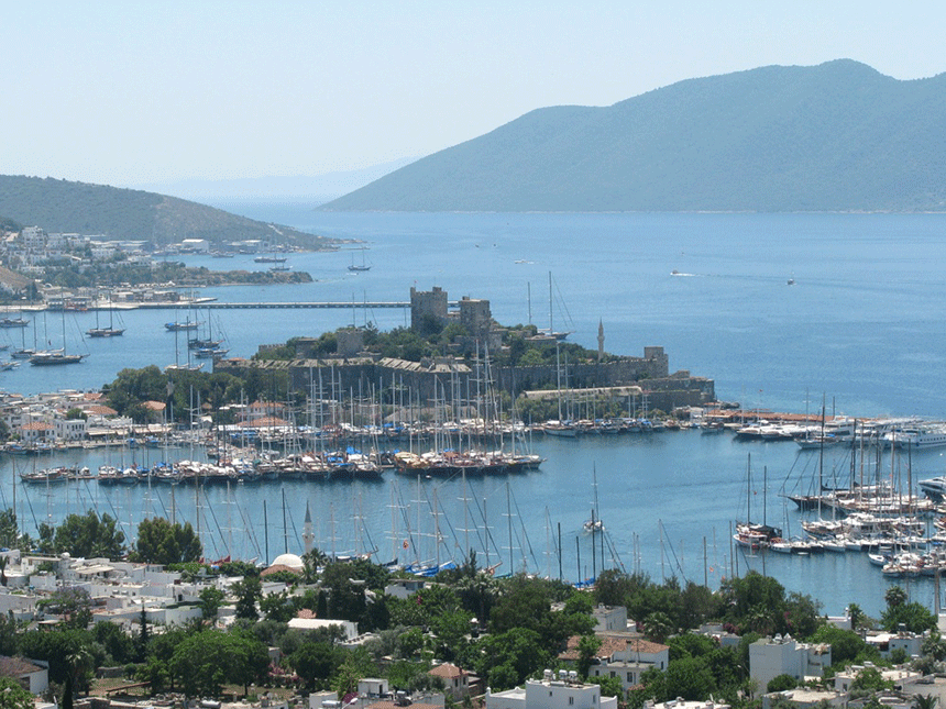 Bodrum marina by River Film