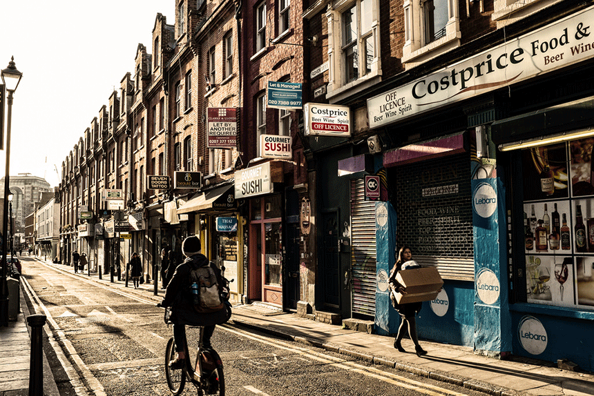 London Film Locations - Shoreditch
