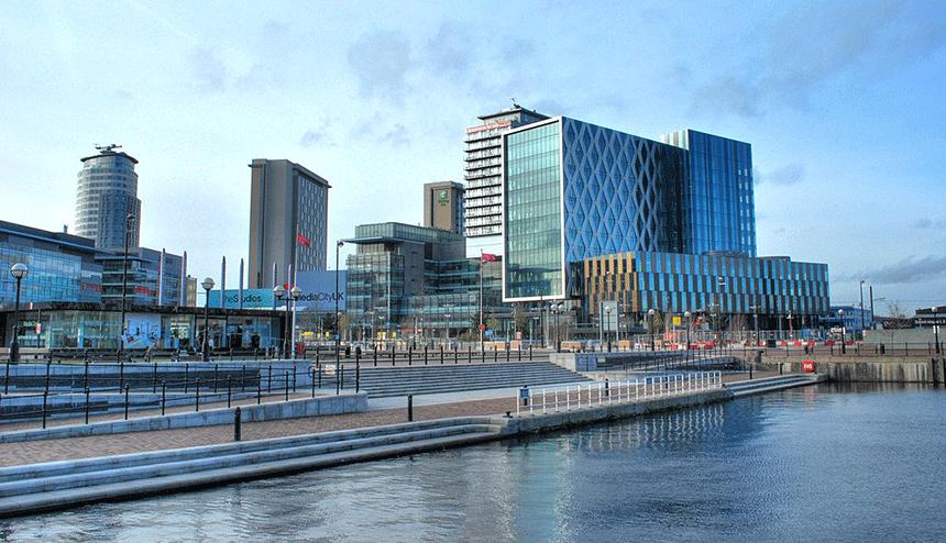 BBC new offices in MediaCityUK